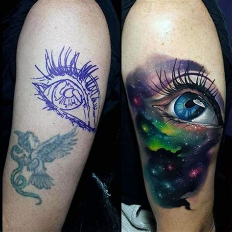 75 universe tattoo designs for men matter and space