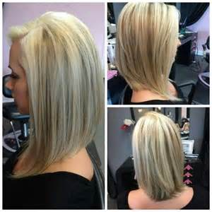 the swing hairstyle n the back and in te frlnt at a angle koloryzacja i farbowanie włos 243 w zdjęcia strona 3 lavito pl