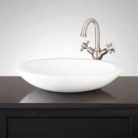 Resin Kitchen Sinks Resin Vessel Sink Signature Hardware