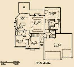 Ranch Floor Plans With Split Bedrooms by Split Bedroom Ranch Dream Scape Homes
