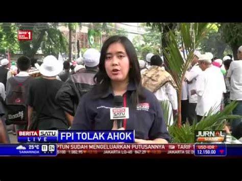 detiknews hari ini ahok terbaru rebutan nasi bungkus fpi tolak mentah ahok berita terbaru