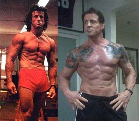 who has a better physique arnold or stallone   stronger 24