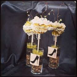 50th birthday centerpieces for tables 50th golden birthdaycelebration black white and gold bi flickr