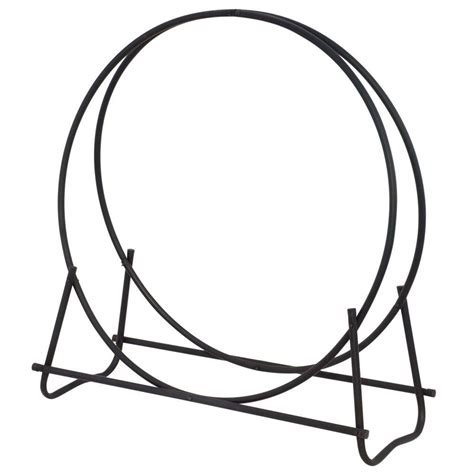 Home Depot Outdoor Christmas Decorations by Uniflame 40 In Hoop Style Firewood Rack W 1881 The Home