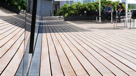 terrasse rinne zusatzinformationen fassadenrinnen aco hochbau