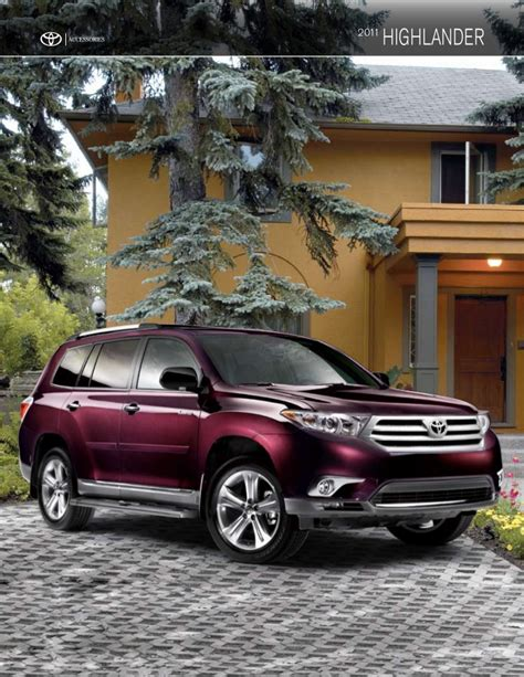 Toyota Highlander Accessories 2011 Toyota Highlander Accessories Dallas