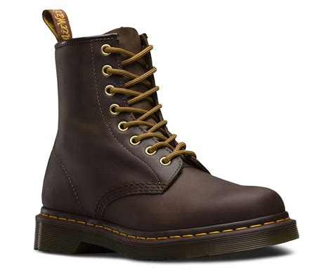 Dr Martens 8 Leather dr martens 1460 airwair leather 8 eye smooth ankle