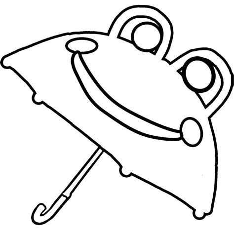 Coloring Page Umbrella by Umbrella Coloring Page Az Coloring Pages