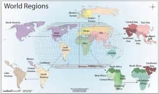 Ap World Regions Map by World Regions Monarch High Ap Human Geography