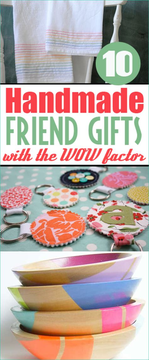 Ideas For Handmade Gifts For Friends - top 10 gifts for friends s ideas