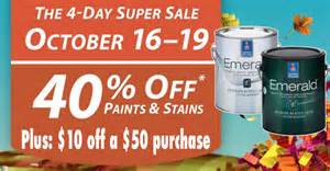 Auto Paint Shop Deals Sherwin Williams Paint Coupon 10 50 Purchase