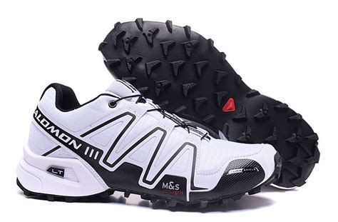 high end product salomon speedcross 3 white black
