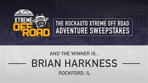 the rockauto xtreme offroad adventure jeep has a new home - Rockauto Giveaway