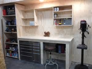 garage work benches workshop ideas bench pin diy how make xcb xeworkshop