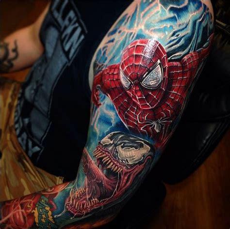superhero tattoo sleeve sleeve make wonderful memories of