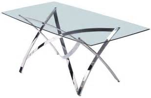 Glass Top Dining Tables With Metal Base Glass Top Kitchen Table Kitchen Wallpaper