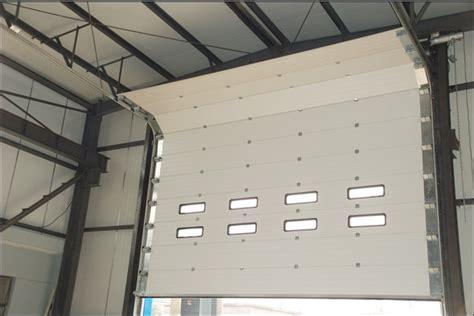 sectional doors industrial sectional door sucus up slide lift hds