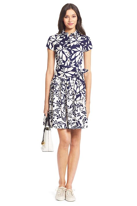 Dvf Dresses by Dvf Scarlet Pleated Cotton Shirt Dress By Dvf