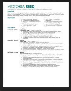 Resume Skills For Server Resume Skills For Restaurant Server Resumes Design