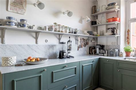 diseno de cocinas  estantes abiertos