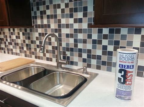 easy to install kitchen backsplash glass mosaic sheets install quickly and are easy to