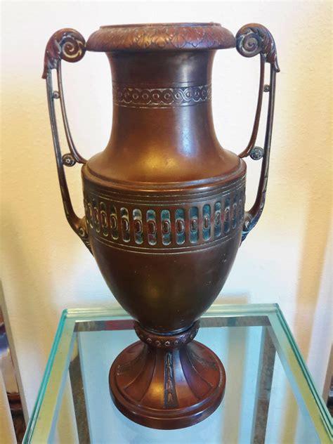 Antique Vase Identification antique deco bronze vase hallmark help