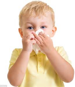 why is my s nose running ask the doctor why am i laid so low by my grandson s sniffles daily mail
