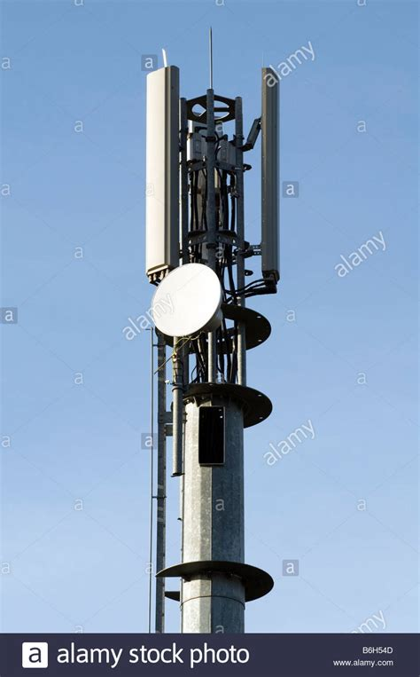 mobile cell phone mast network base station aerial antenna masts stock photo 21275533 alamy