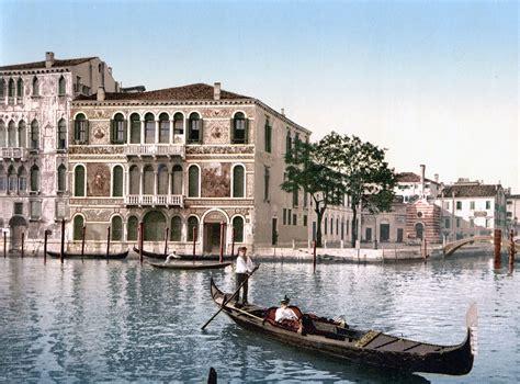 grand canapé droit palazzo barbarigo venice