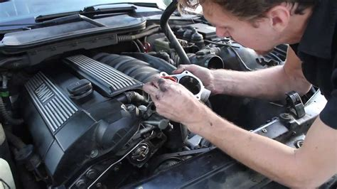small engine maintenance and repair 1998 bmw 7 series parking system replacing the thermostat on bmw e36 328i youtube