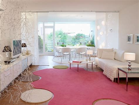 pink rug for room 20 and cheerful pink living rooms