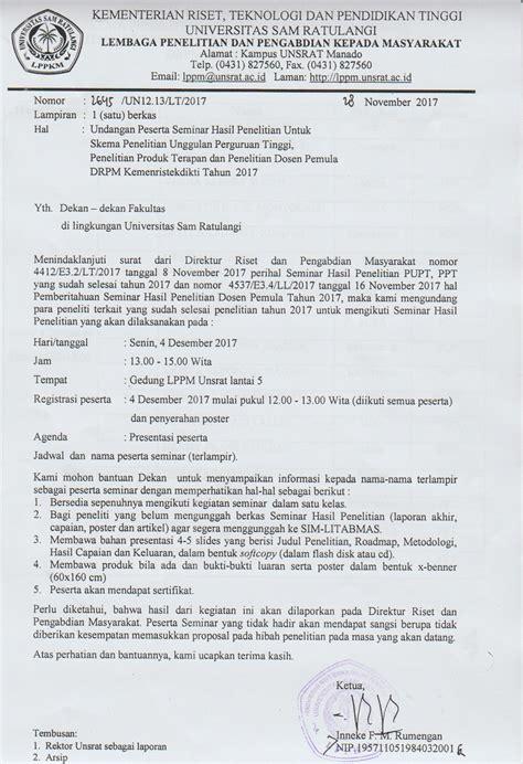 format laporan akhir pdp lppm unsrat lembaga penelitian dan pengabdian masyarakat