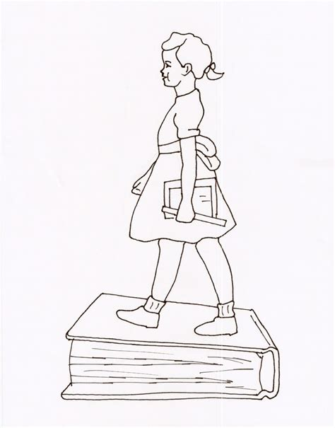 Coloring Page For Ruby Bridges | free coloring page and ruby bridges az coloring pages