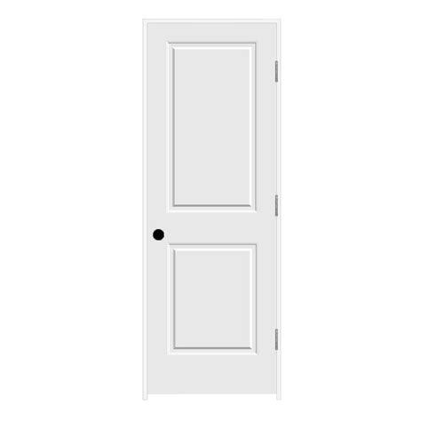 Jeldwen Interior Doors Jeld Wen 28 In X 80 In C2020 Primed 2 Panel Solid Premium Composite Single Prehung