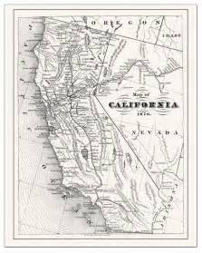 california and san francisco maps