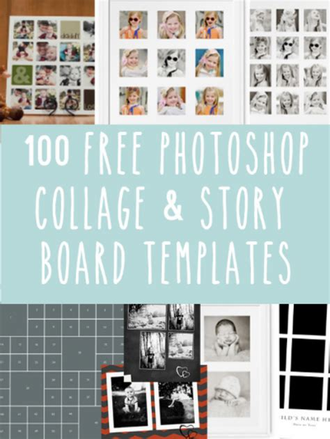 Free Photoshop Collage And Storyboard Templates Live Snap Love Free Photoshop Collage Templates