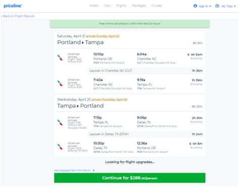 The Flight Deal   American ? $289: Portland ? Tampa (and