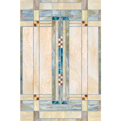 Decorative Window Film Home Depot | artscape 24 in x 36 in artisan decorative window film 01