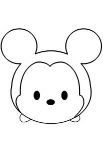disney tsum tsum coloring pages getcoloringpages