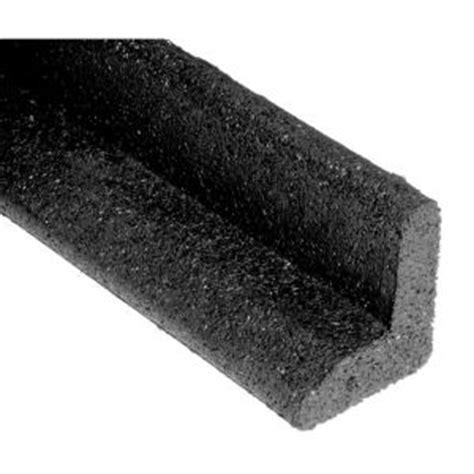 vigoro ecoborder  ft black rubber landscape edging