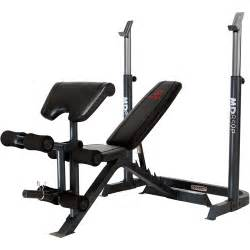 marcy 2 olympic weight bench walmart