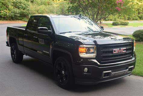 gmc blackout blacked out gmc cab auto trends magazine