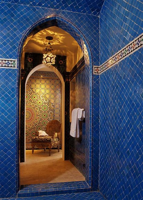 moroccan bathroom tiles to da loos moroccan dreams blue bathroom