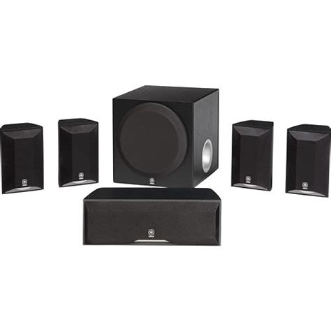 yamaha ns sp5800 5 1 channel home theater system ns