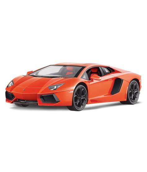 Rc Mobil Lamborghini Aventador Skala 124 Orange toyhouse officially licensed 1 10 lamborghini aventador lp700 4 rc scale model car orange