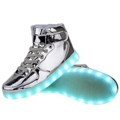 light up shoes for high top usb charging led light up shoes