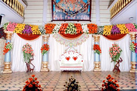 Christian Wedding Reception Decorations by Bangalore Stage Decoration Design 378 Weddingokay Wedding Decorators In Bangalore