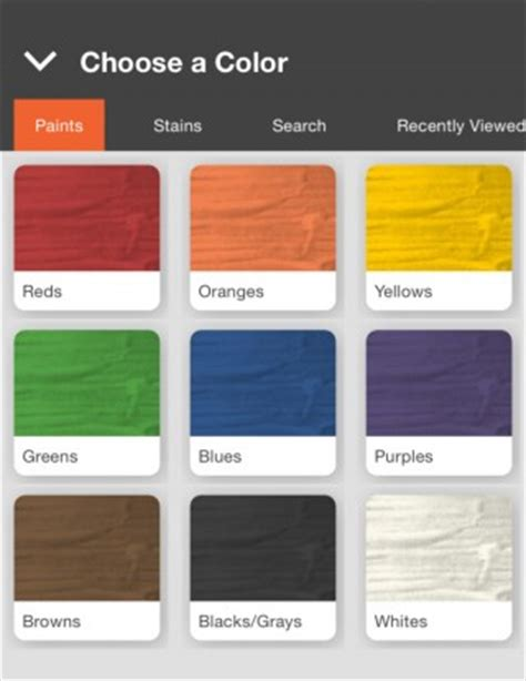 home depot s project paint app adds color to omnichannel strategy