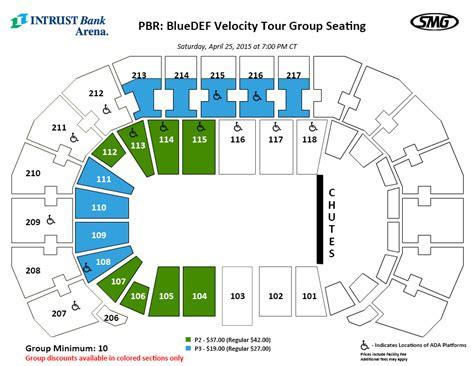 matthew arena seating pbr pbr bluedef velocity tour intrust bank arena
