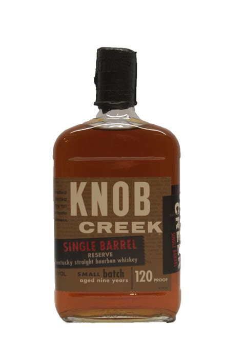 Knob Creek Single Barrel by Knob Creek Single Barrel 9 Year 120poof Oaksliquors